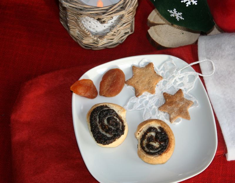 świąteczne ślimaczki z makiem