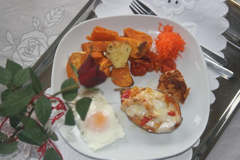 Bataty Nadziewane Czyli Szybki I Smaczny Obiad Kasiagotuje Pl