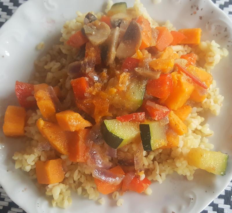 gulasz warzywny z batatem